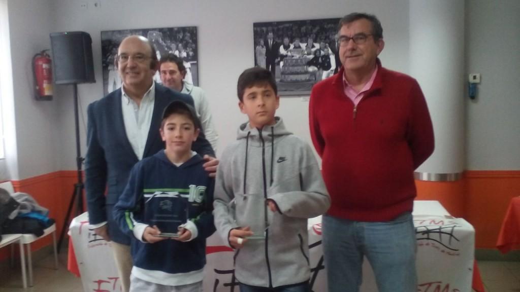 Finalistas Máster MAdrid alevín 2014